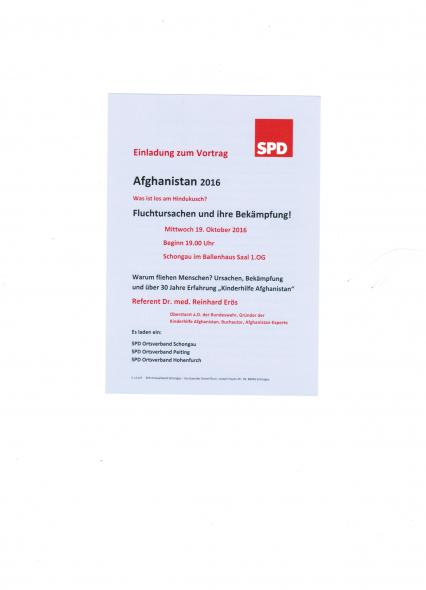 Vortrag Afghanistan